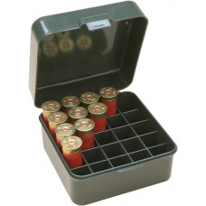 "MTM Case-Gard Flip-Top Shotshell Box 12 or 20 Gauge 2-3/4"" and 3"" 25-Round Green"