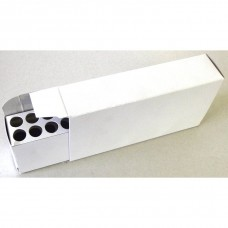 Top Brass Cardboard Ammo Box with Tray 7mm Rem / .45-70 20 Round White