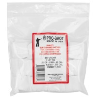 Pro-Shot Products Patches, .22-.270 Cal 11/8-500