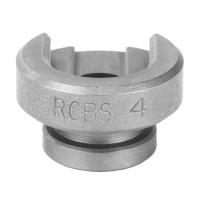 RCBS Shell Holder #4 (300 Winchester Magnum, 6.5 PRC, 7mm Remington Magnum)