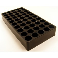 Top Brass 50 Round Black Plastic Ammunition Tray  .45 ACP, 10MM, .40 S&W, .44 MAG, & .45 COLT, 25 Pk