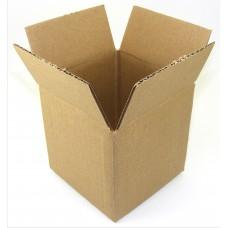 Cardboard Box 4 X 4 X 4