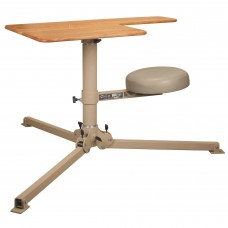 Caldwell BR Pivot Shooting Bench, Butcher Block Top