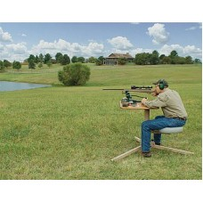 Caldwell BR Pivot Shooting Bench, Butcher Block Top