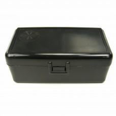 FS Reloading Plastic Ammo Box Medium Pistol 50 Round Solid Black