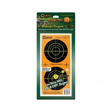 Caldwell Orange Peel 3 bulls-eye: 15 sheets