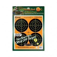 Caldwell Orange Peel 4 bulls-eye: 10 sheets