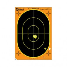 Caldwell Orange Peel Oval Target 12x18 Ovall 100 sheets