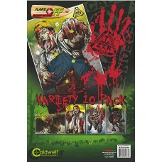 Caldwell ZTR Zombie Flake-Off Combo Pack, 10 pk