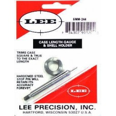 Lee Precision Case Length Gauge & Shell Holder 6mm Remington 244
