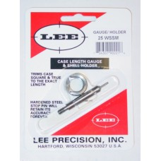 Lee Precision Case Length Gauge & Shell Holder .25 Winchester Super Short Maganum