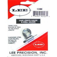 Lee Precision Case Length Gauge & Shell Holder 10mm Auto