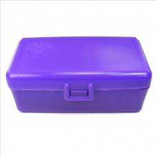 FS Reloading Plastic Ammo Box Medium Pistol 50 Round Solid Purple
