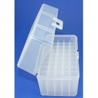 FS Reloading Plastic Ammo Box Small Rifle 50 Round Clear