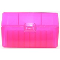 Holds 50 Rounds PINK TOPS Ammo Box 5-PACK 222 223 Rem 5.56