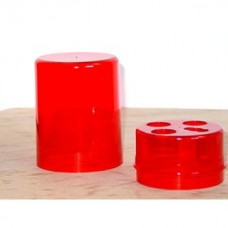 Lee Precision Die Box Round Red