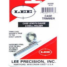 Lee Precision Case Length Gauge & Shell Holder .22-250 Remington