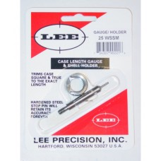Lee Precision Case Length Gauge & Shell Holder .25 Winchester Super Short Magnum
