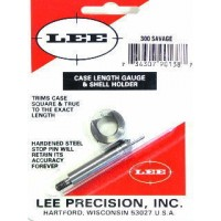 Lee Precision Case Length Gauge & Shell Holder .300 Savage