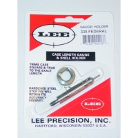 Lee Precision Case Length Gauge & Shell Holder .338 Federal