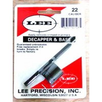 Lee Precision Decapper and Base 22