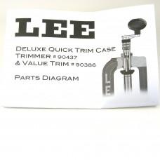 Lee Precision Quick Trim Instructions