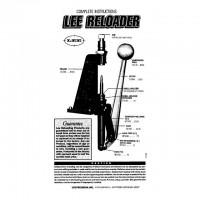 Lee Precision Reloader Press Instructions