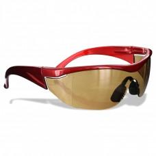 Rugged Blue Navigator Safety Glasses Amber