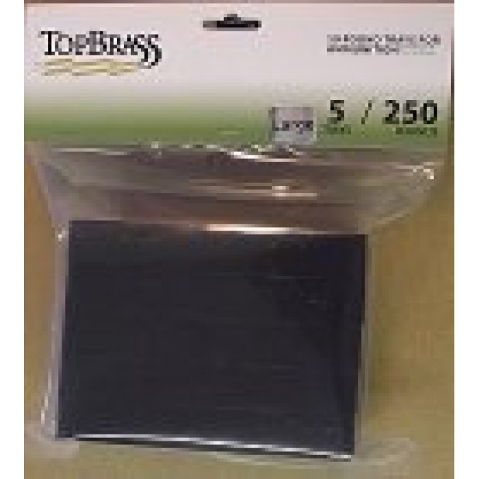 Top Brass White Ammo Box w/20 Rnd Tray 7mm Rem / 45-70 5 pack