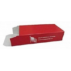 Top Brass 50 Round Red Ammo Box #04 5 pack