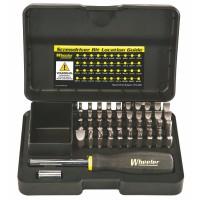 Wheeler Engineering Professional Gunsmithing Screwdriver Set, 43 pc