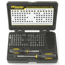 Wheeler Engineering Professional Gunsmithing Screwdriver Set, 72 pc