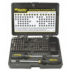 Wheeler Engineering Professional Gunsmithing Screwdriver Set, 89 pc