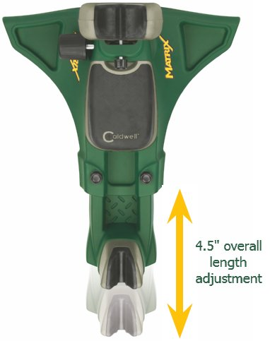 Matrix features 4.5 inches of length adjustment