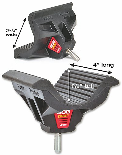 Bog-Pod WIDE BODY Universal Shooting Rest dimensions