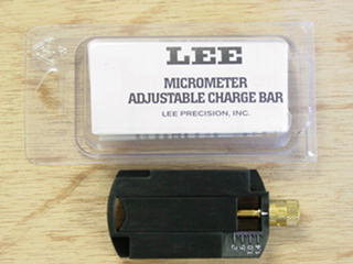 Adjustable charge bar