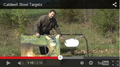 Caldwell Steel Targets video clip