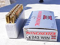 Winchester factory loads