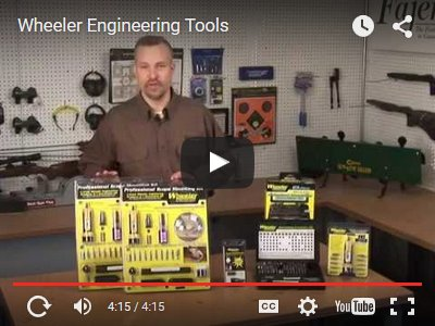 Wheeler Engineering Gun Smithing Tools