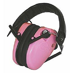 Caldwell E-Max Low Profile Pink Hearing Protectors