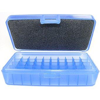 FS Reloading Brand Translucent Blue Samll Pistol Plastic Ammo Box