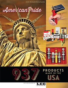 Lee Precision Catalog Cover
